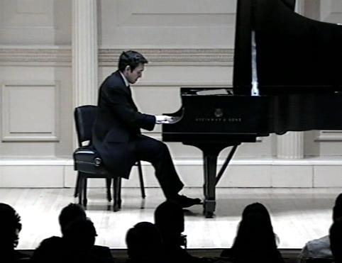 At the Carnegie Hall (Weill Recital Hall)