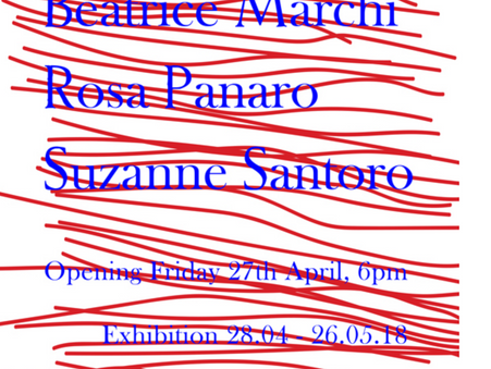 Helen Chadwick Beatrice Marchi Rosa Panaro Suzanne Santoro  Exhibition at SANDY BROWN
