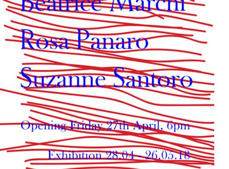 Helen Chadwick Beatrice Marchi Rosa Panaro Suzanne Santoro  Exhibition at SANDY BROWN