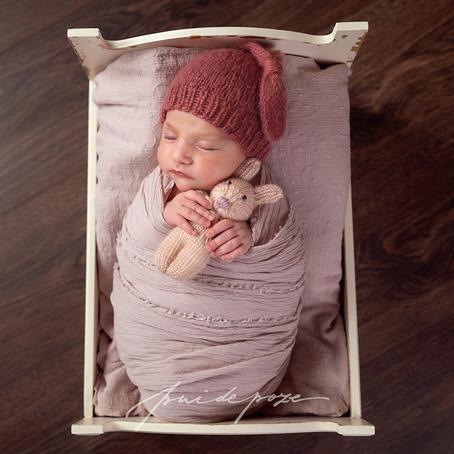 Anastasia, niște roz în plină toamnă - ședință foto nou-născut (București)