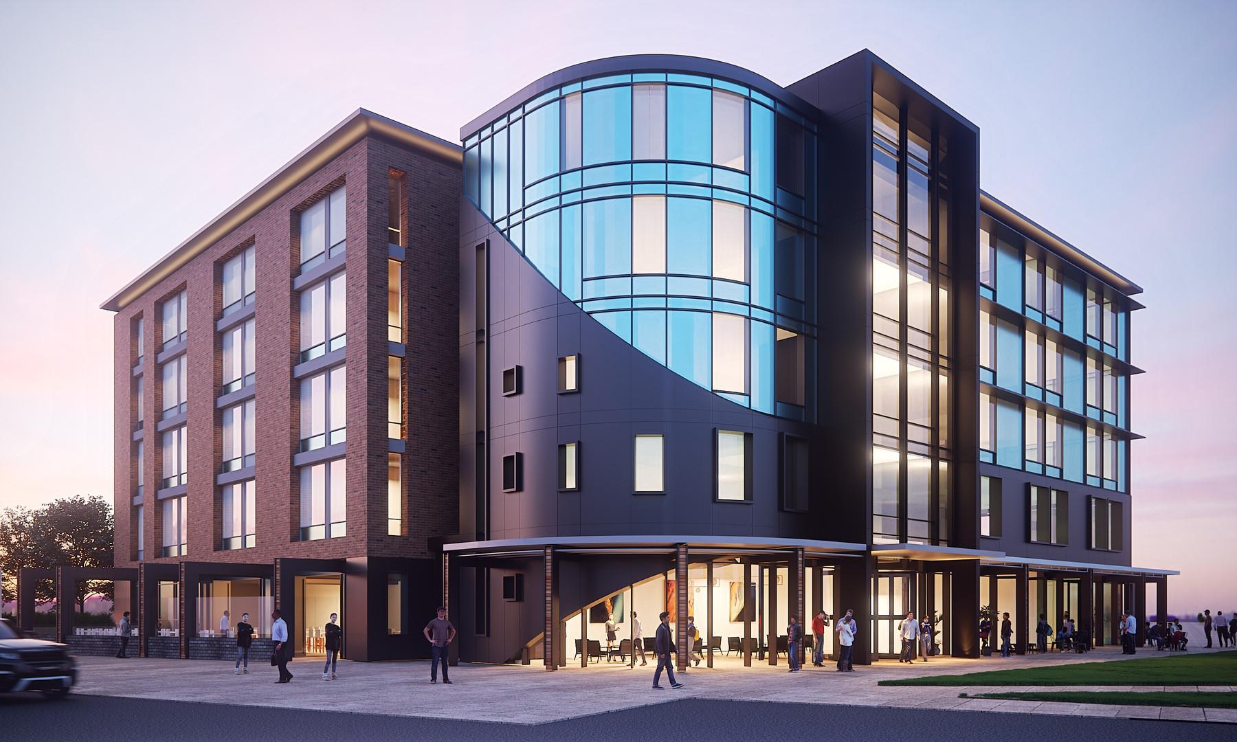 Albany Hilton Exterior