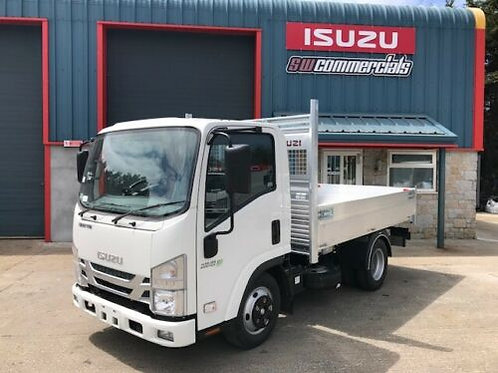NEW ISUZU TRUCK GRAFTER N35.125 TE SWB TIPPER AUTOMATIC EASYSHIFT- TWIN WHEEL