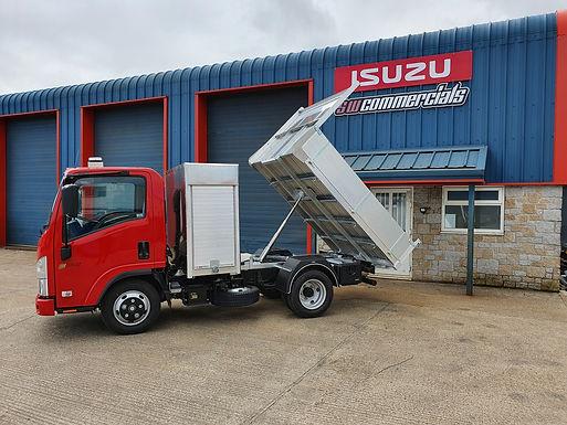 NEW ISUZU TRUCK GRAFTER N35.125 T SWB STORAGE POD/TIPPER