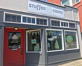 about stuffed cakes shop, stuffed cakes, small cakes packed with personality, custom cakes seattle, cupcakes seattle, wedding cakes, west seattle
