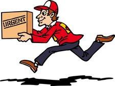 corriere pacco urgente