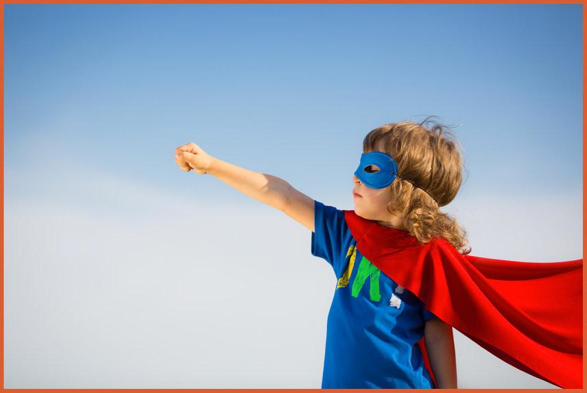 bambino super poteri