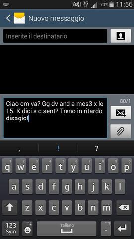 testo sms abbreviazioni