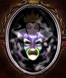 strega Biancaneve allo specchio
