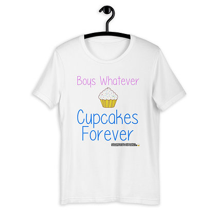 Boys Whatever Cupcakes Forever T-shirt