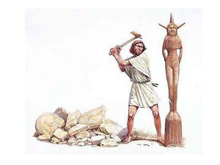 Abraham: Idol Shop = Bull: China Shop