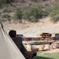 Braai (BBQ) areas for campers