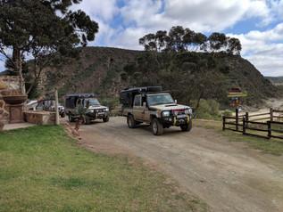 Voetspore team visiting the farm