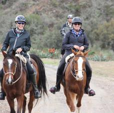 Horseback Riding (own horses)