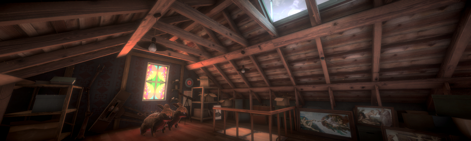 Golden Loft Attic