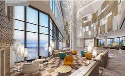 Hotel Lobby Render design