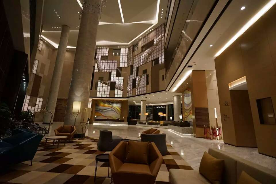Lobby Hotel Intercontinental Interior Design
