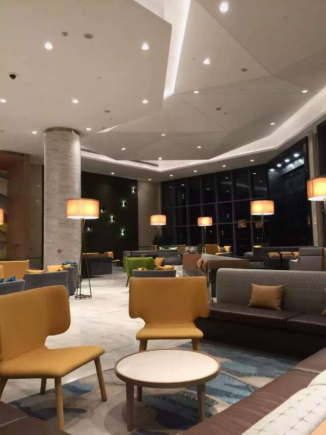 Lobbby night picture , Hospitality Interior design