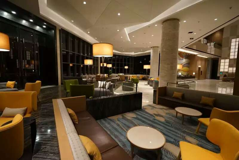 Lobby Interior Design hotel, Intercontinental hotel design