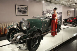 World of Bentley old car Exhibition Design Shanghai China