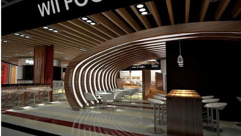 Wii Food Court Interior Design