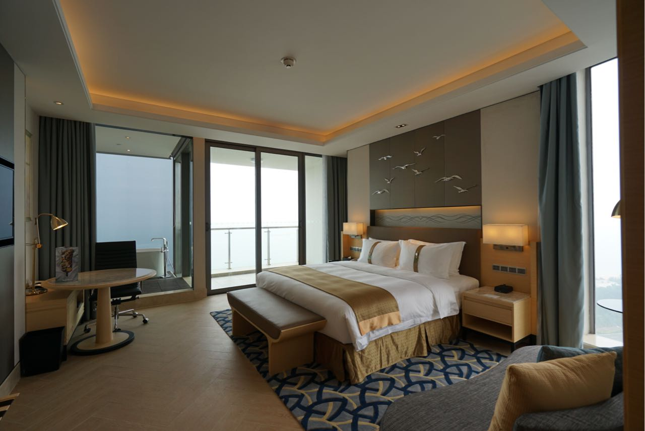 Guestroom design Hotel Interior Design   Holiday Inn Haikou West Coast