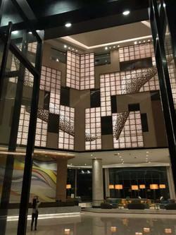 Trespa Feature wall design Interior Design