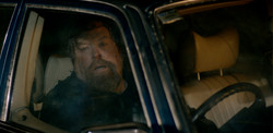 Jeff(Clayton) hides in car