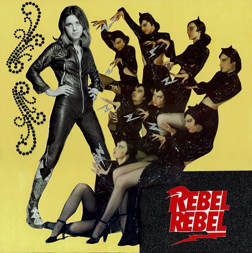 'Rebel Rebel' - Original Artwork by Kelly Sullivan