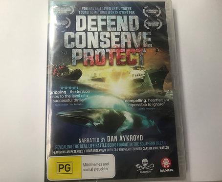 DEFEND CONSERVE PROTECT DVD - Region 4