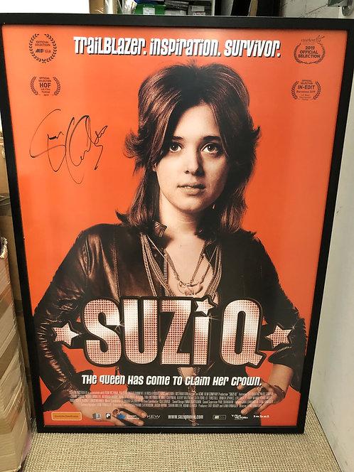 SUZI Q Signed Cinema Poster