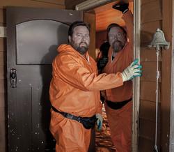 Terry(Shane)& Jeff(Clay) in doorway