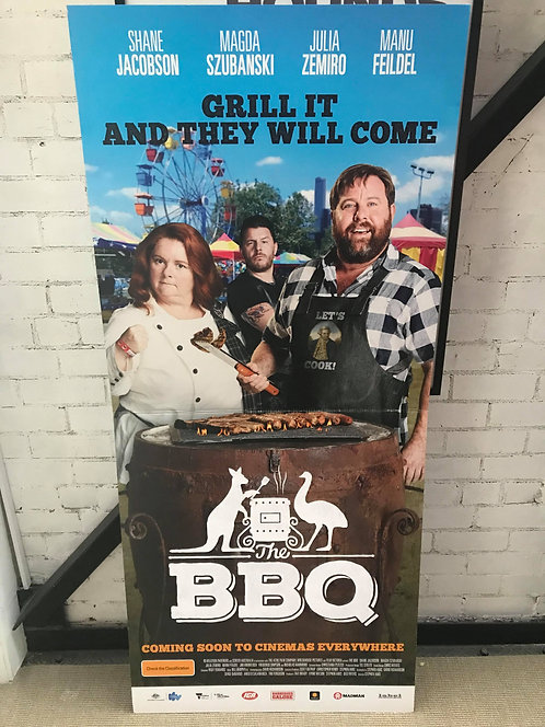 The BBQ Official Standee