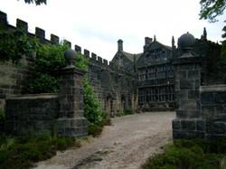 built gates set in location