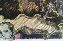 storyboard of action sequence