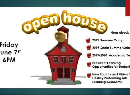 DPALA Open House June 7th @ 6pm