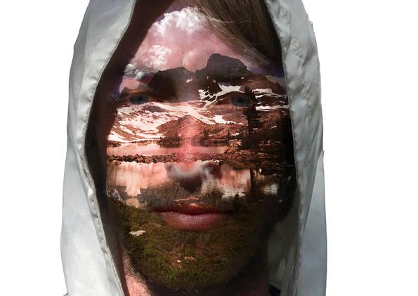 "Self Portrait (Day 16)  Photography, Photoshop 16 x 8"" 2017"