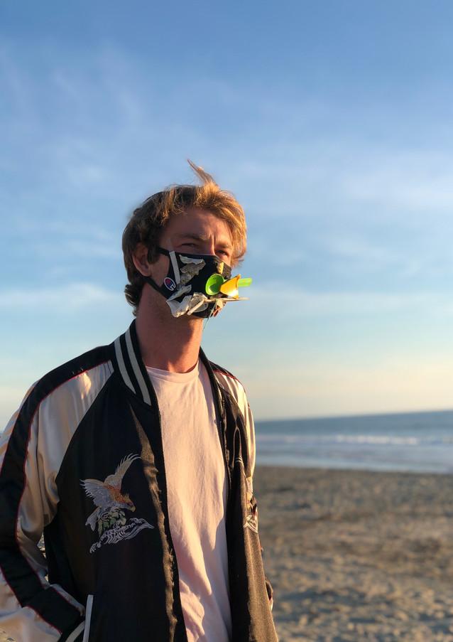 Mask Your Feelings - Beach Refuse