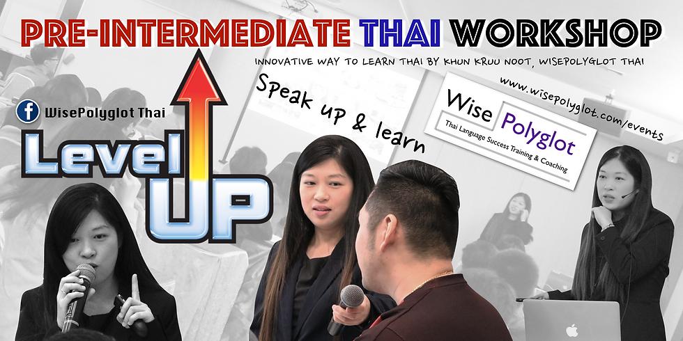 Pre-Intermediate Thai Conversation Workshop (with E-Learning Program)