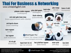Wisepolyglot Thai language business 1 No