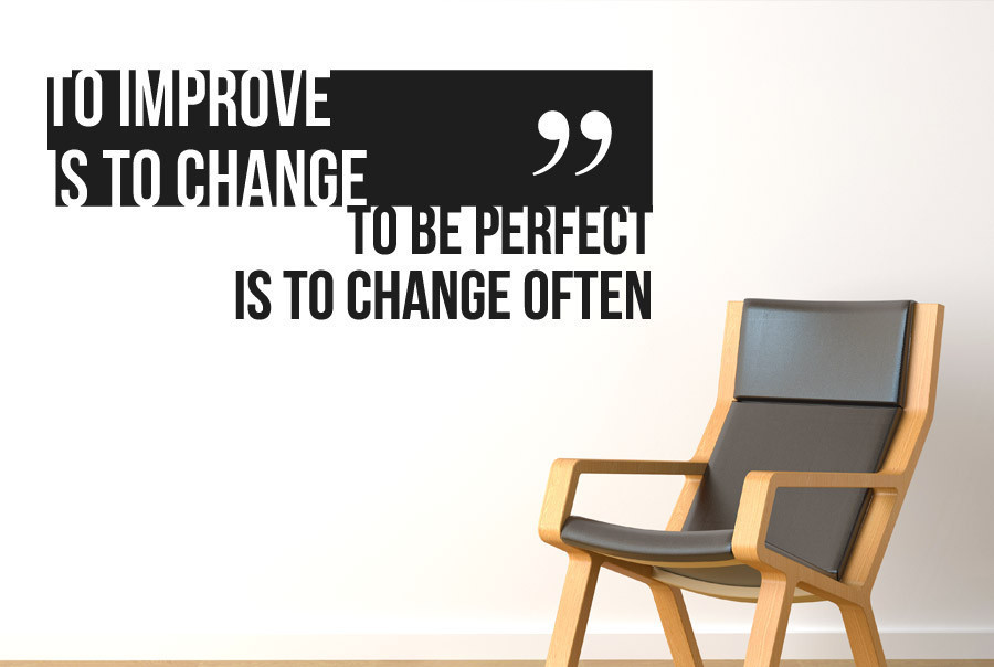Self-improvement project - a change for the better