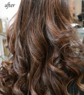 Brunette Hair Styling and Balayage