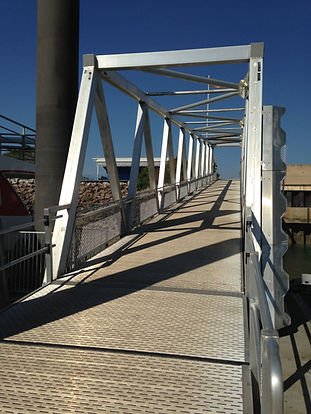 Wharf Marine Pile Coatings Refurbishment