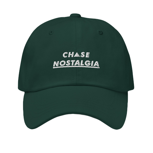 Chase Nostalgia Dad Hat - Forest Green