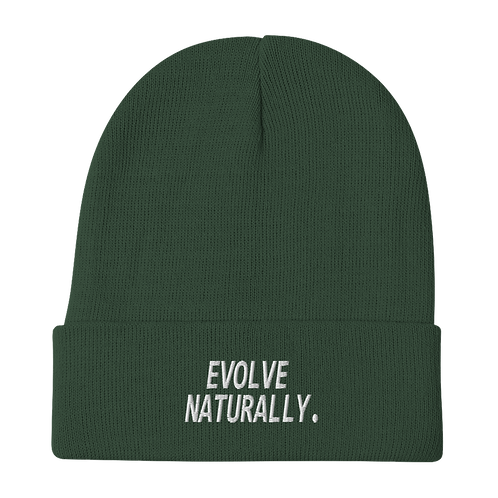 Evolve Naturally Beanie - Forest Green