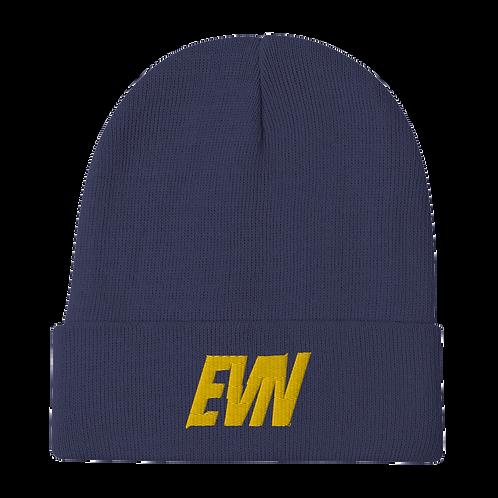"""EVN""  Beanie - Navy"
