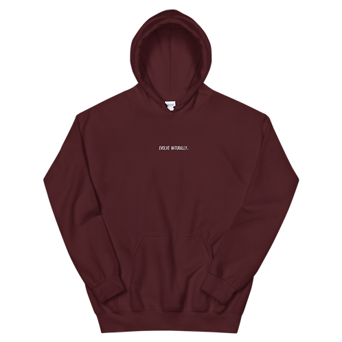 Evolve Naturally - Maroon