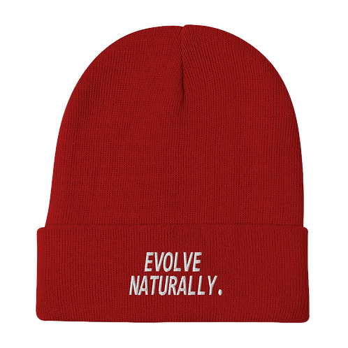Evolve Naturally Beanie - Red