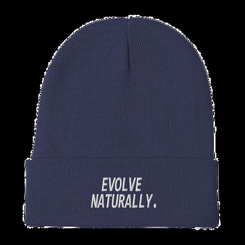 Evolve Naturally Beanie - Navy