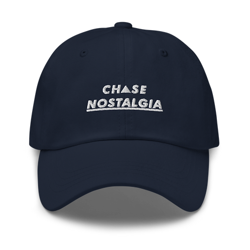 Chase Nostalgia Dad Hat - Navy Blue