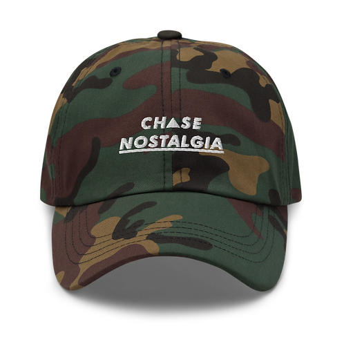 Chase Nostalgia Dad Hat - Camo